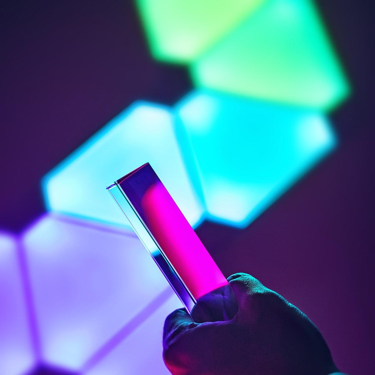 Außergewöhnliche Beleuchtung - Nanoleaf entwickelt smarte LED Beleuchtungslösungen