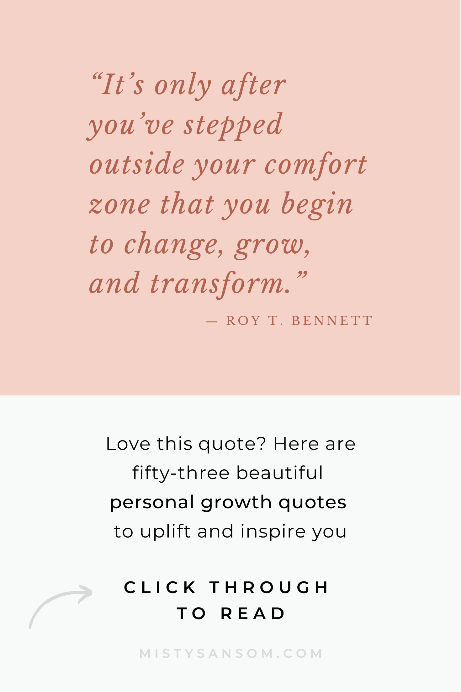 53 Beautiful Personal Growth Quotes to Live By — Misty ...