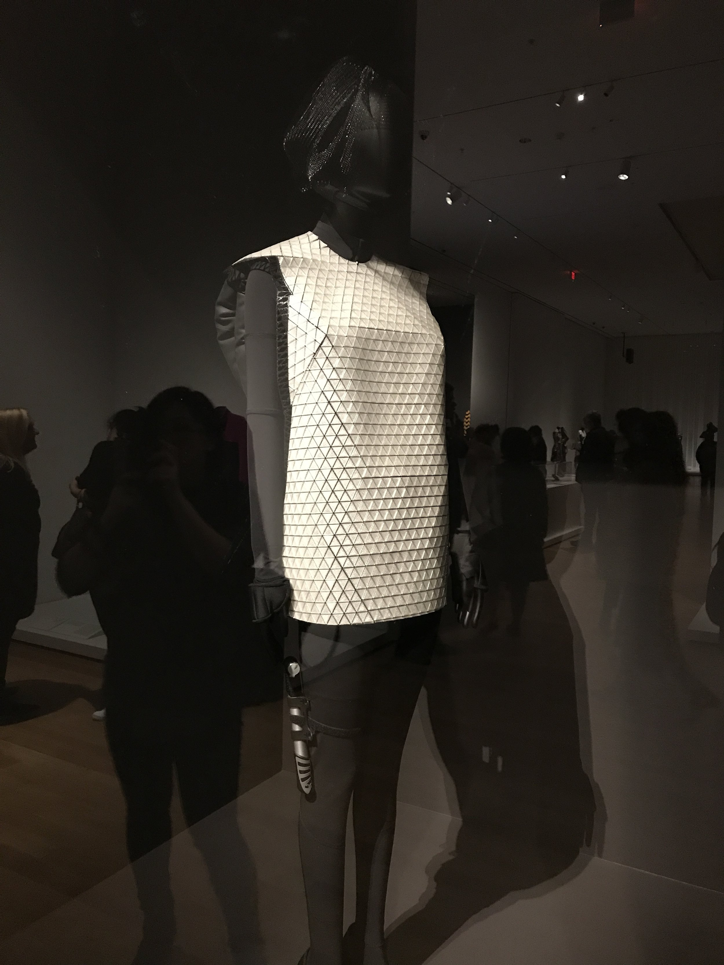Printed for Pyer Moss 'The Future' Of Fashion' exhibit at MOMA