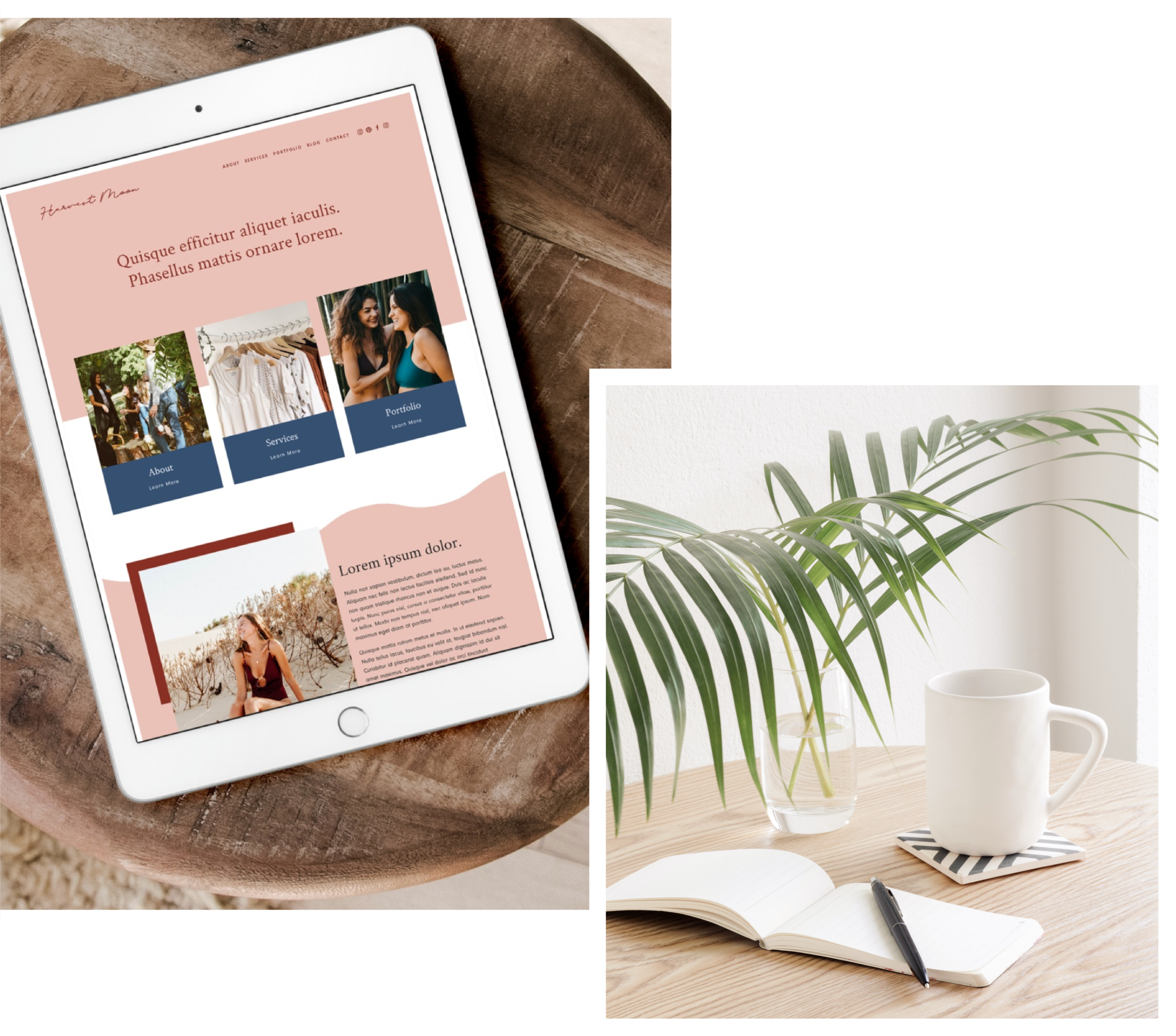 SQUARESPACE TEMPLATES - We do design, you do business - we're the perfect match. Let's craft not only a website, but an online home to grow your passion and connect with your dream clients.