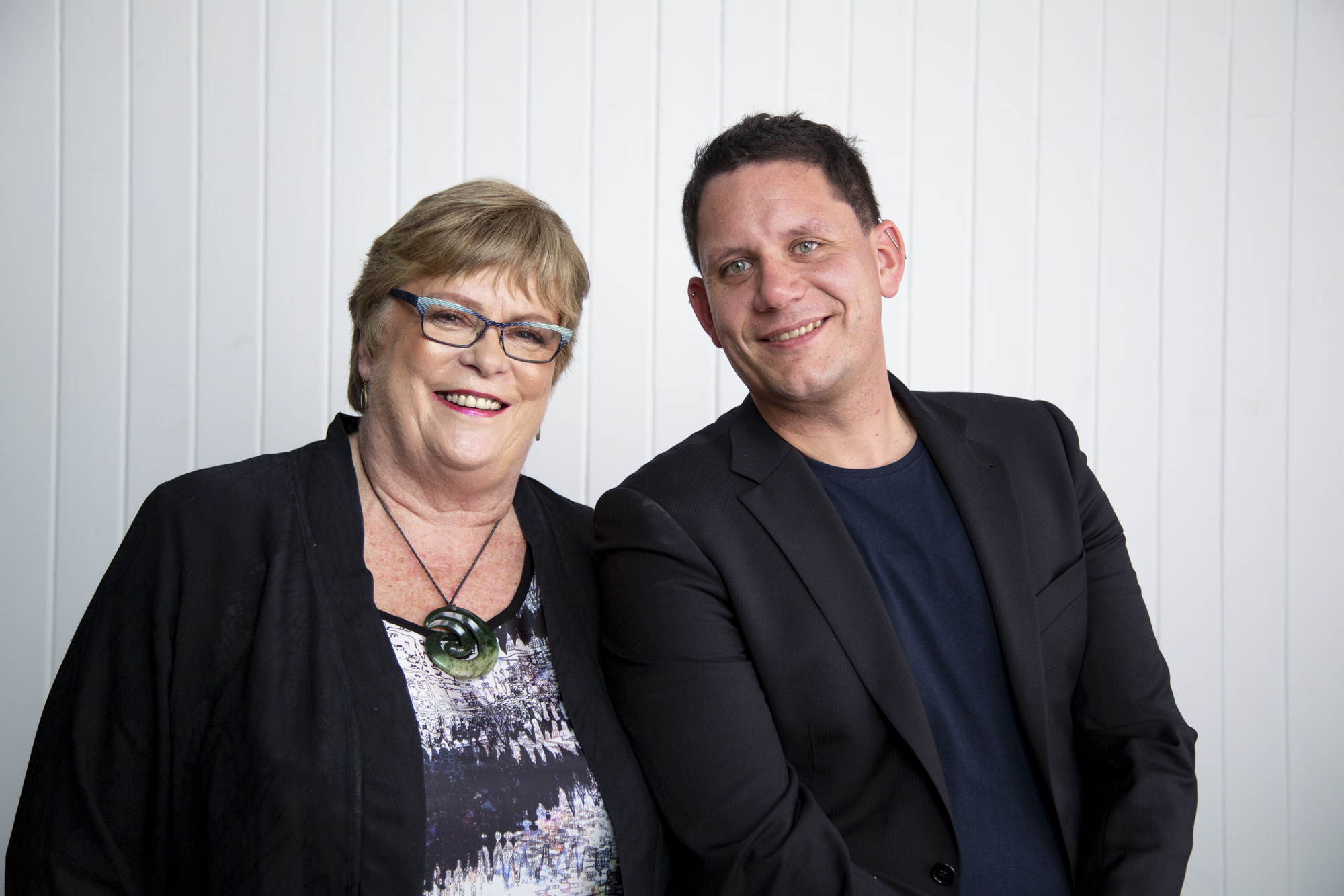 Glenda Hughes & Troy Mihaka - Two of our Candidates for Greater Wellington Regional Council.