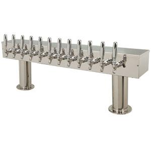 Double Pedestal 12 Faucets