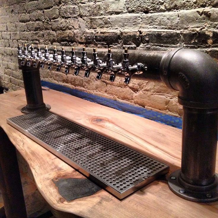 12 Faucet Black Iron