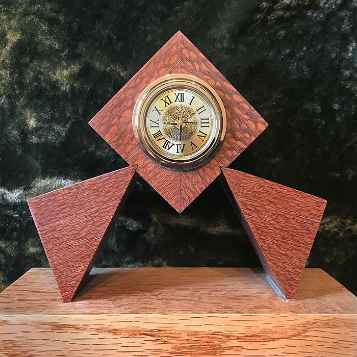Giampaolo Fallai - salvaged hardwood clocks
