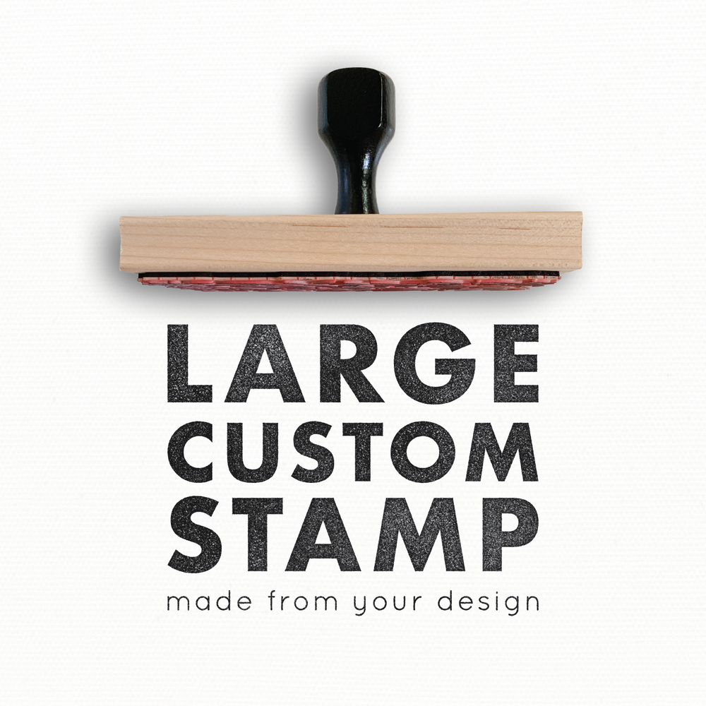 name Customized rubber stamp PHOTO TAKEN BY