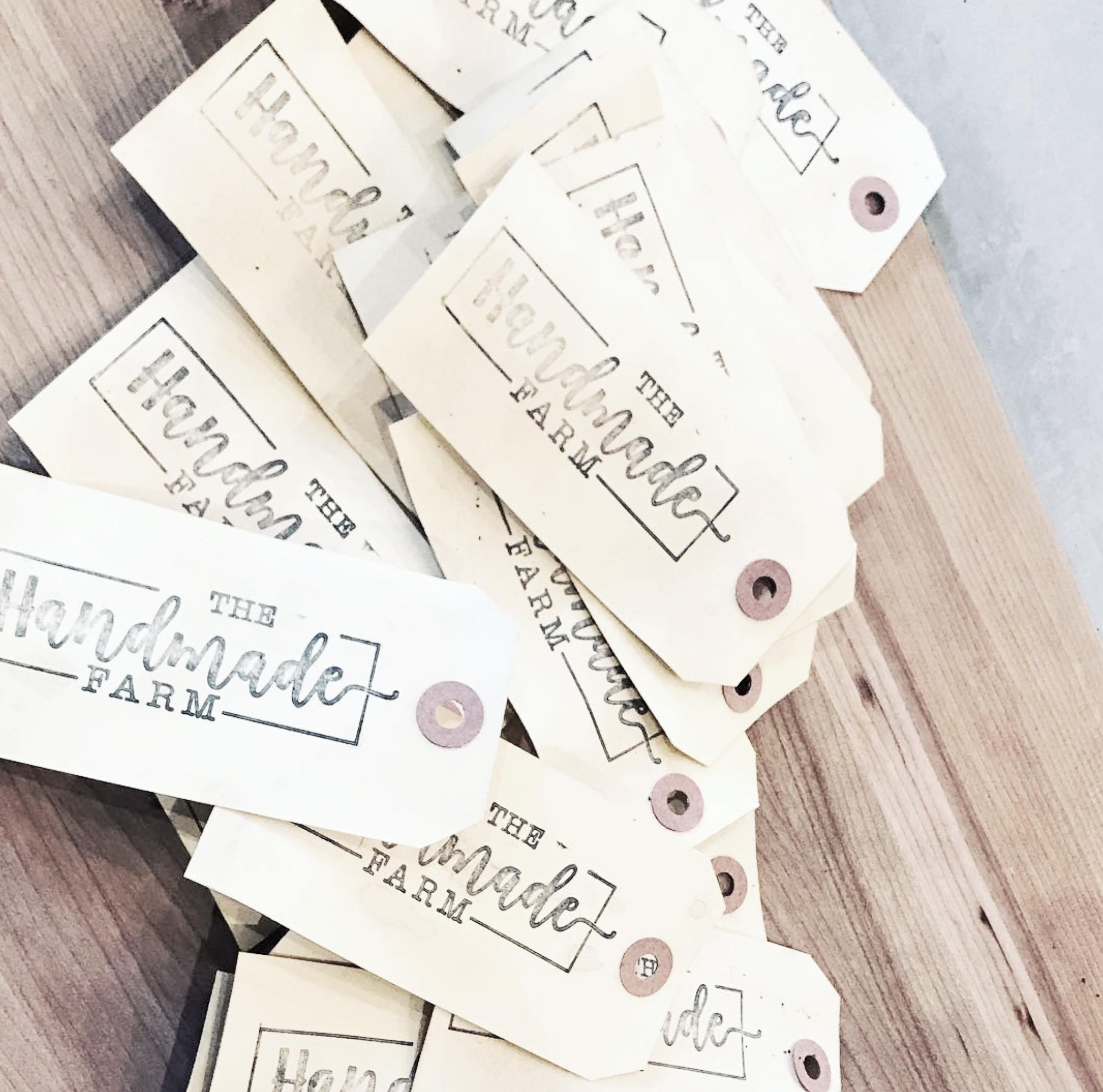 """❤️ my new custom stamp  from  @creatiate  Thank you so much  @creatiate ""  ~ thehandmadefarm"
