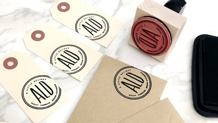 Easy and Affordable Product Packaging - Etsy Packaging - Project 4 - A Little Delight - Modern Maker Stamps - Blog.jpg