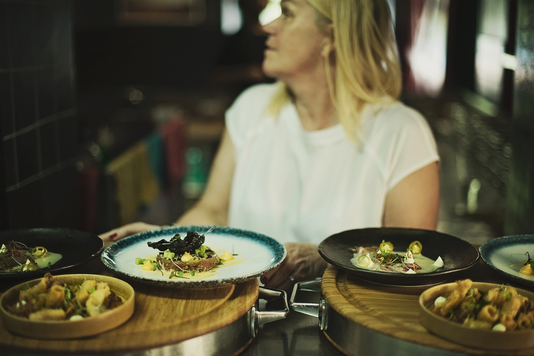 Jan Tomlin - Jan keeps a keen eye on operations in Bree street and holds all branding alignment through the group as well as look-and-feel, and set up of all the restaurants in the group.