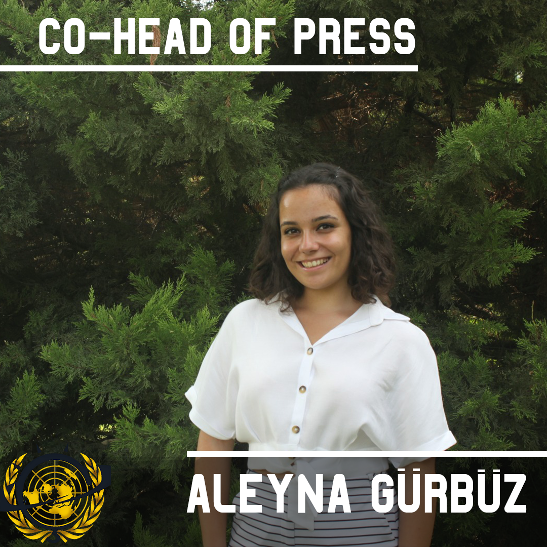 Co - Head of Media Aleyna Gürbüz