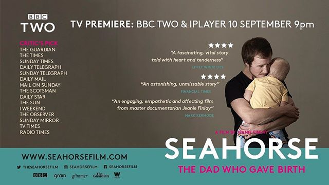 We are so excited for the UK TV premiere of @seahorsefilm TONIGHT on @bbctwo then @BBCiPlayer  We made this film with so much love and can't wait for you to see it 🧡  Please share, watch and use #seahorsefilm
