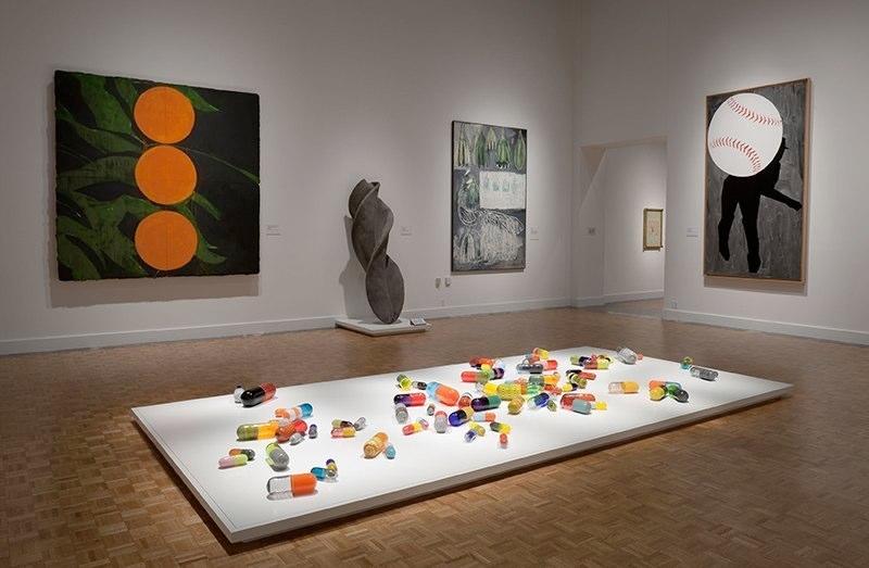 Pill Spill, Installation at DIA, 2012