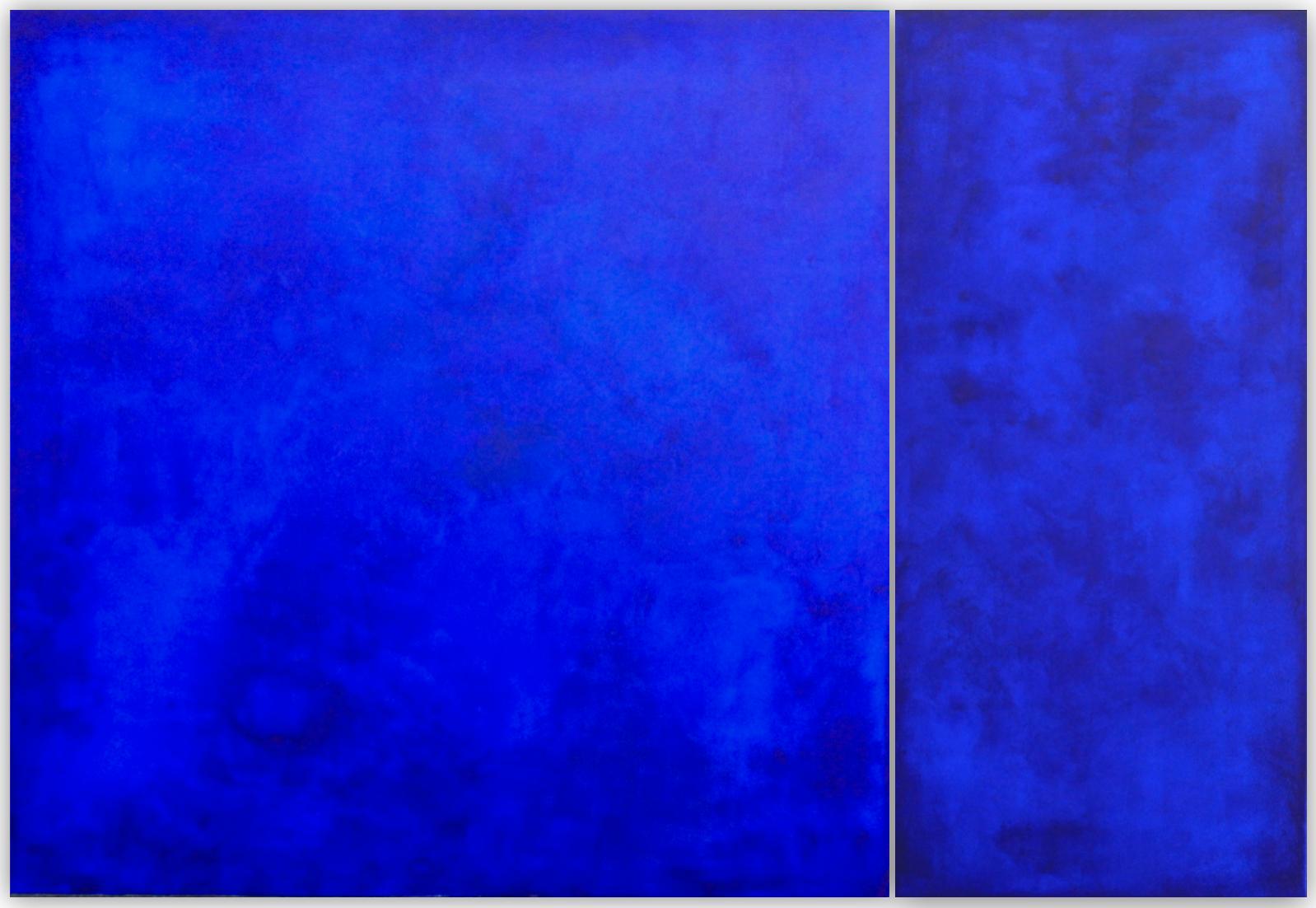 ELECTRIC DREAM - Monochrome acrylic on canvas'.2500mm x 1700mm (Diptique)