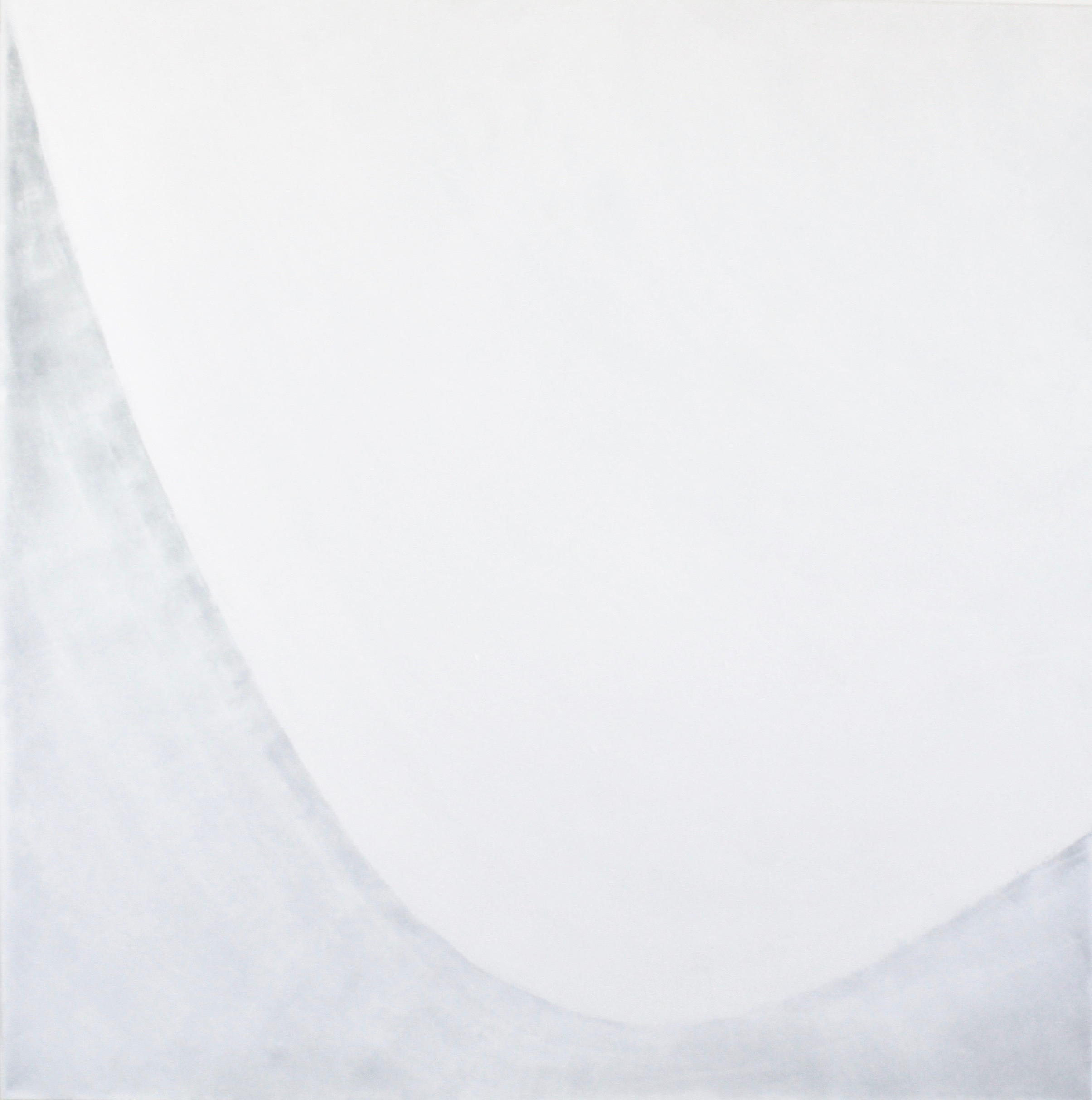 SNOW at sea level - 1200mm x 1200mm.Acrylic on canvas.