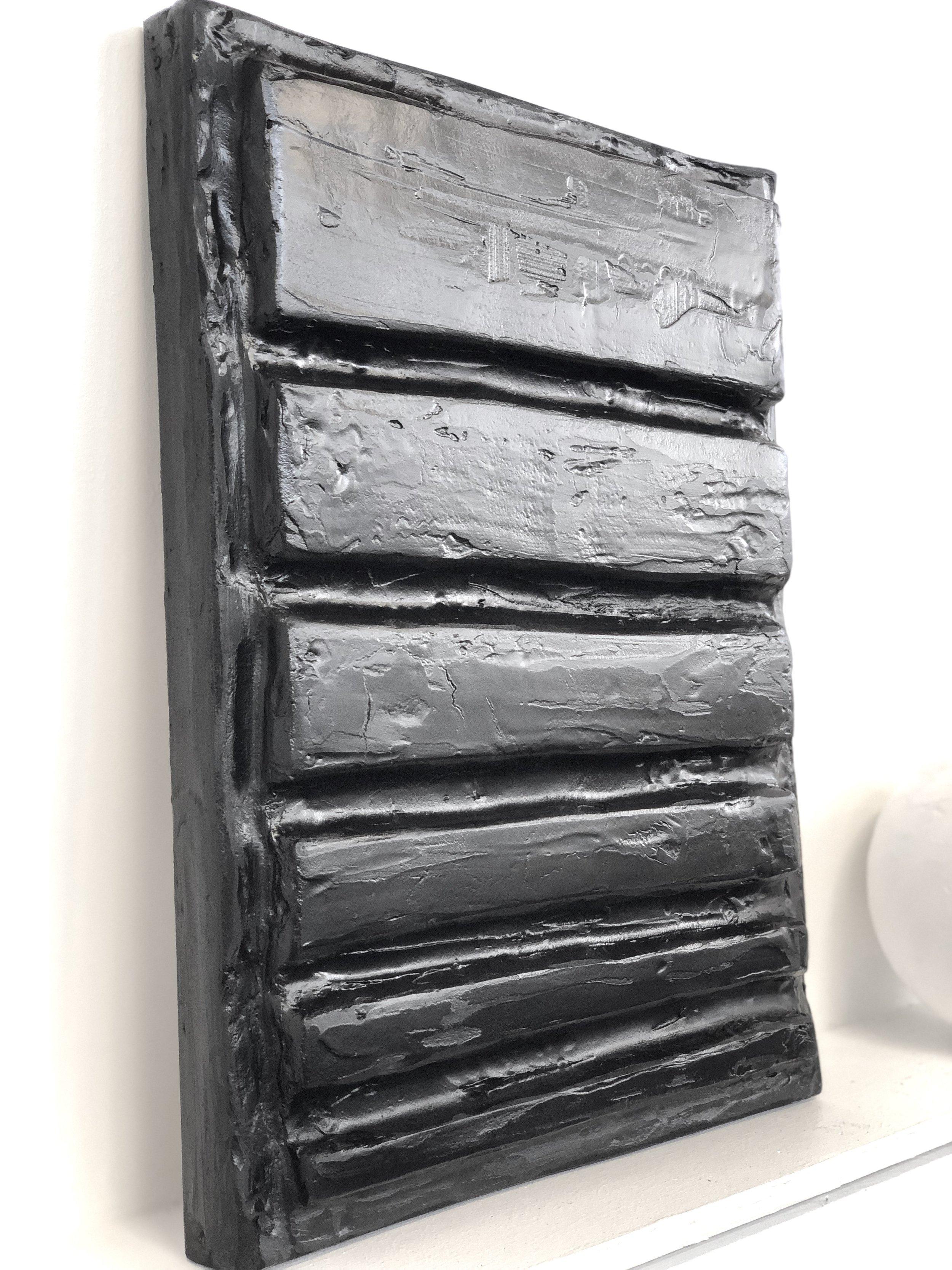 KEY TO LIFE - Three dimensional wall sculpture, in black.40mm (w) x 60mm (h) x 6mm (d)1x available. Made to order.