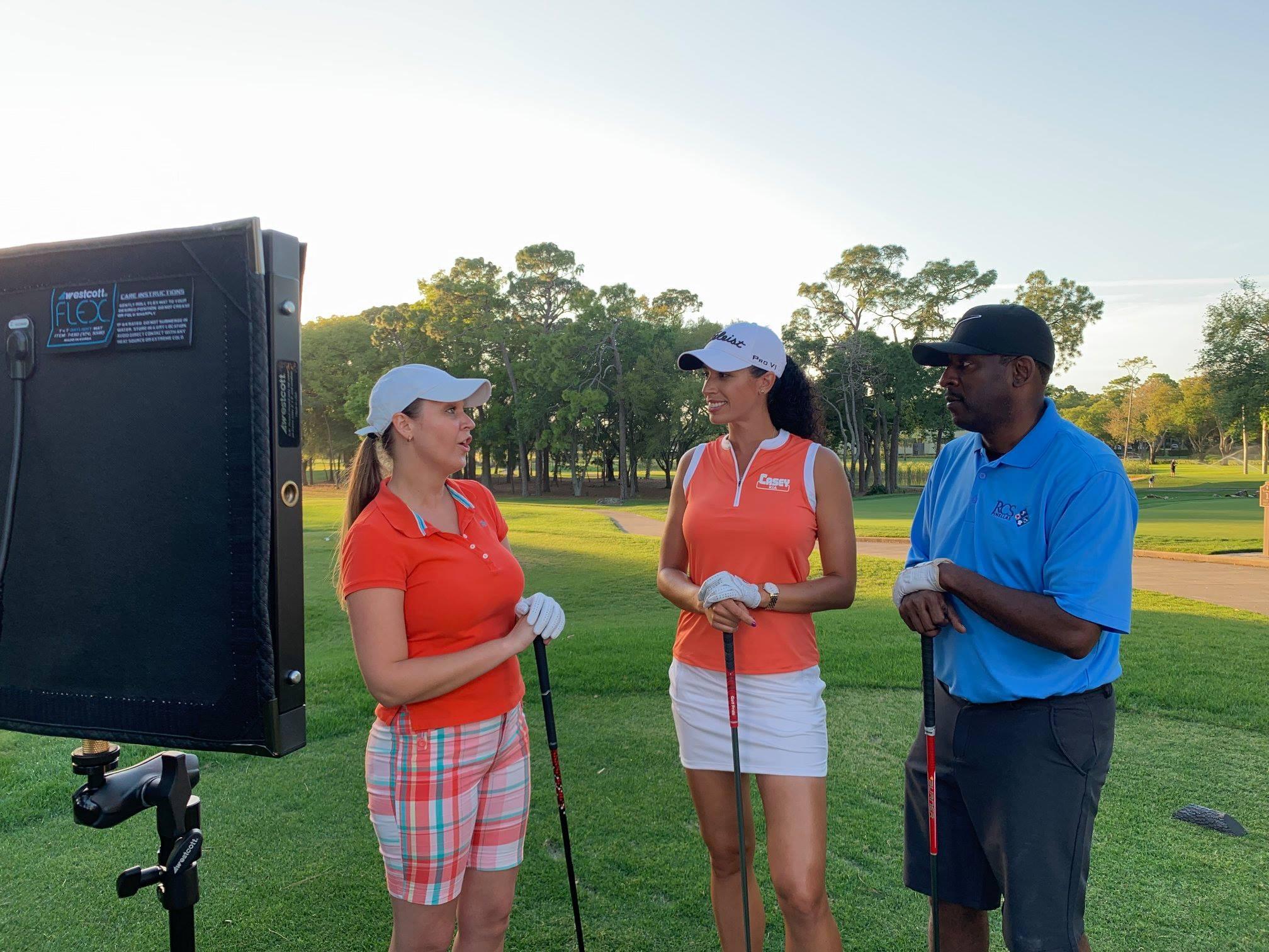 RCS PinellasCelebrity Golf ClassicCommercial Shoot -