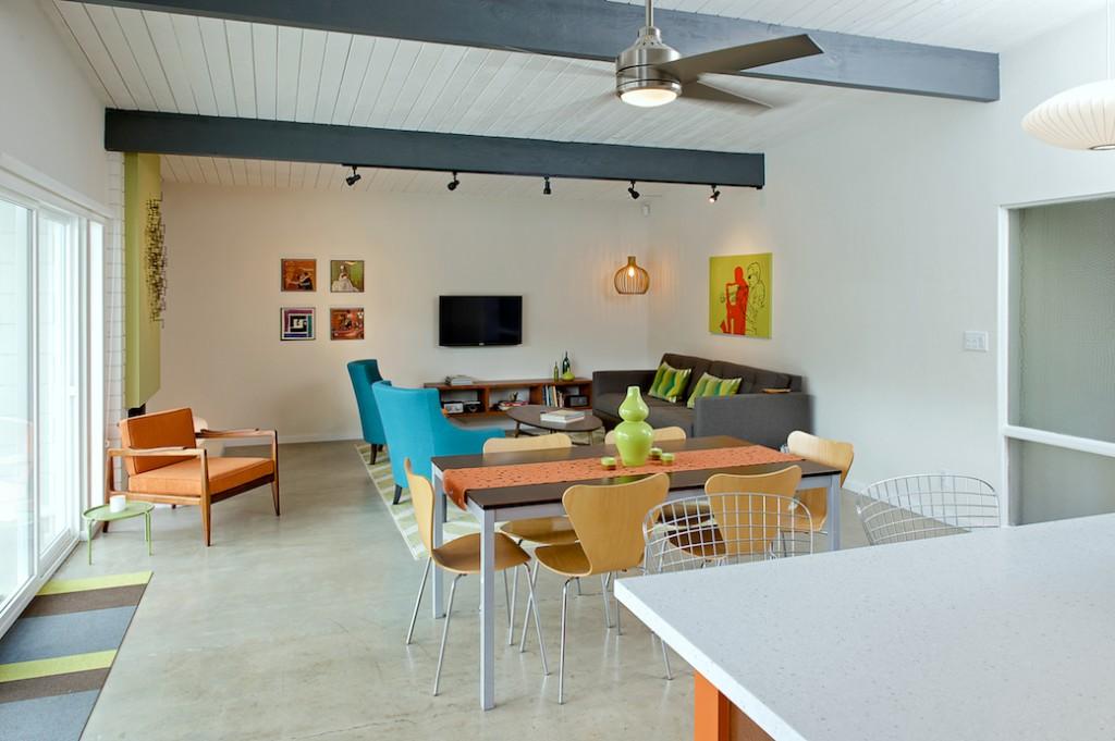 easmor living room, midcentury modern open concept