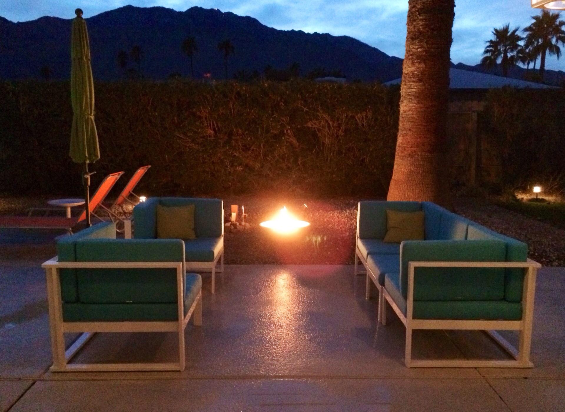 Palm springs fire bowl