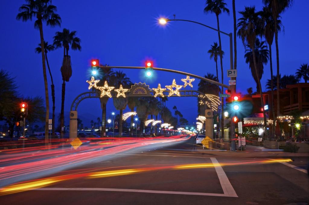 palm springs holiday lights, Easmor Alexander vacation rental