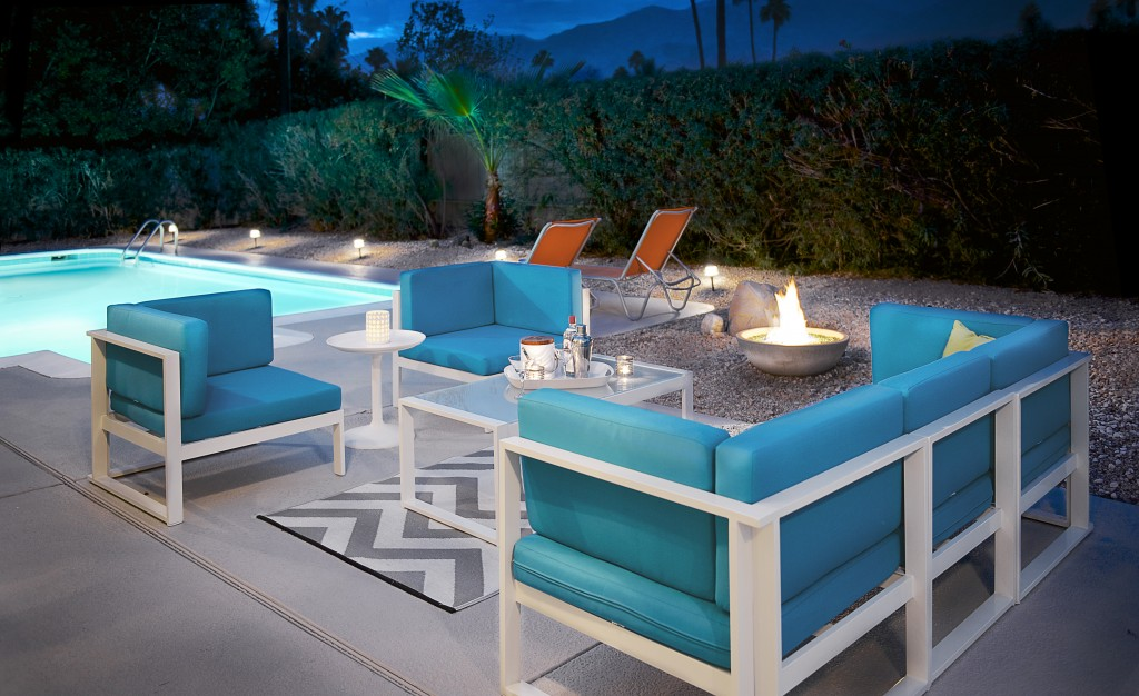 Palm Springs Vacation Rental with Firepit