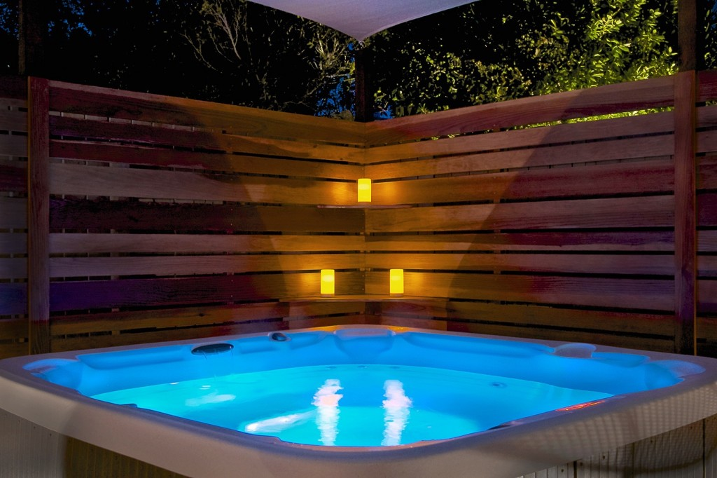 Palm Springs Vacation Rental Hot Tub