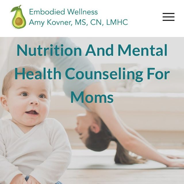 I built a new website all by MYSELF!! It's live now and I'm proud of it. Check it out. www.embodied-wellness.com.  #nutrition #mentalhealth #wellness #embodiedwellness #perinatalnutrition #perinatalmentalhealth #maternalmentalhealth #nourishedmamas #nourishment #mamaboss