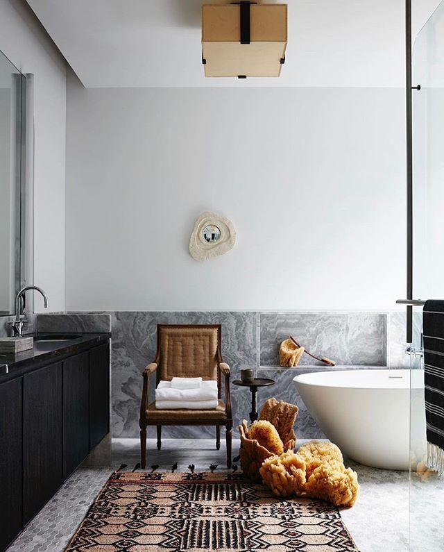 Lounging season. (Design by @nealbeckstedt) . . . . . #design #interiordesign #interiorstyling #interiors #interior123 #archilovers  #luxury #decorando #decoration #luxuryhouse #homedecor #luxurylife #luxurylifestyle #bathroomdesigns #vogueliving #housedecor #interiorarchitecture #interiordesigner  #homegoals #archdigest #ad100 #travelinspo #designlovers #designinspiration #interiorinspo #nycbathroom #interiorinspiration #theworldofinteriors  #kfineconcepts #furnituredesign