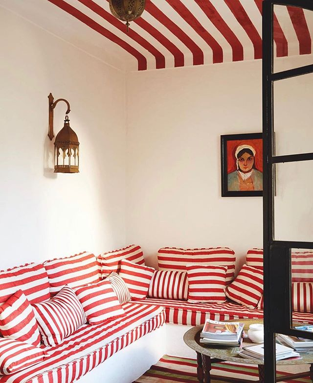 The incredibly chic retreat of interior designer, @gavin1966. (Photo via @tmagazine) . . . . . #design #interiordesign #interiorstyling #londondesigner #interior123 #archilovers  #luxury #seatingarea #decoration #luxuryhouse #stripestyle #luxurylife #luxurylifestyle #homestyle #vogueliving #houseandgarden #interiorarchitecture #interiordesigner  #insidetangier #archdigest #tmagazine #travelinspo #designlovers #designinspiration #interiorinspo #tangiermorocco #interiorinspiration #theworldofinteriors  #kfineconcepts
