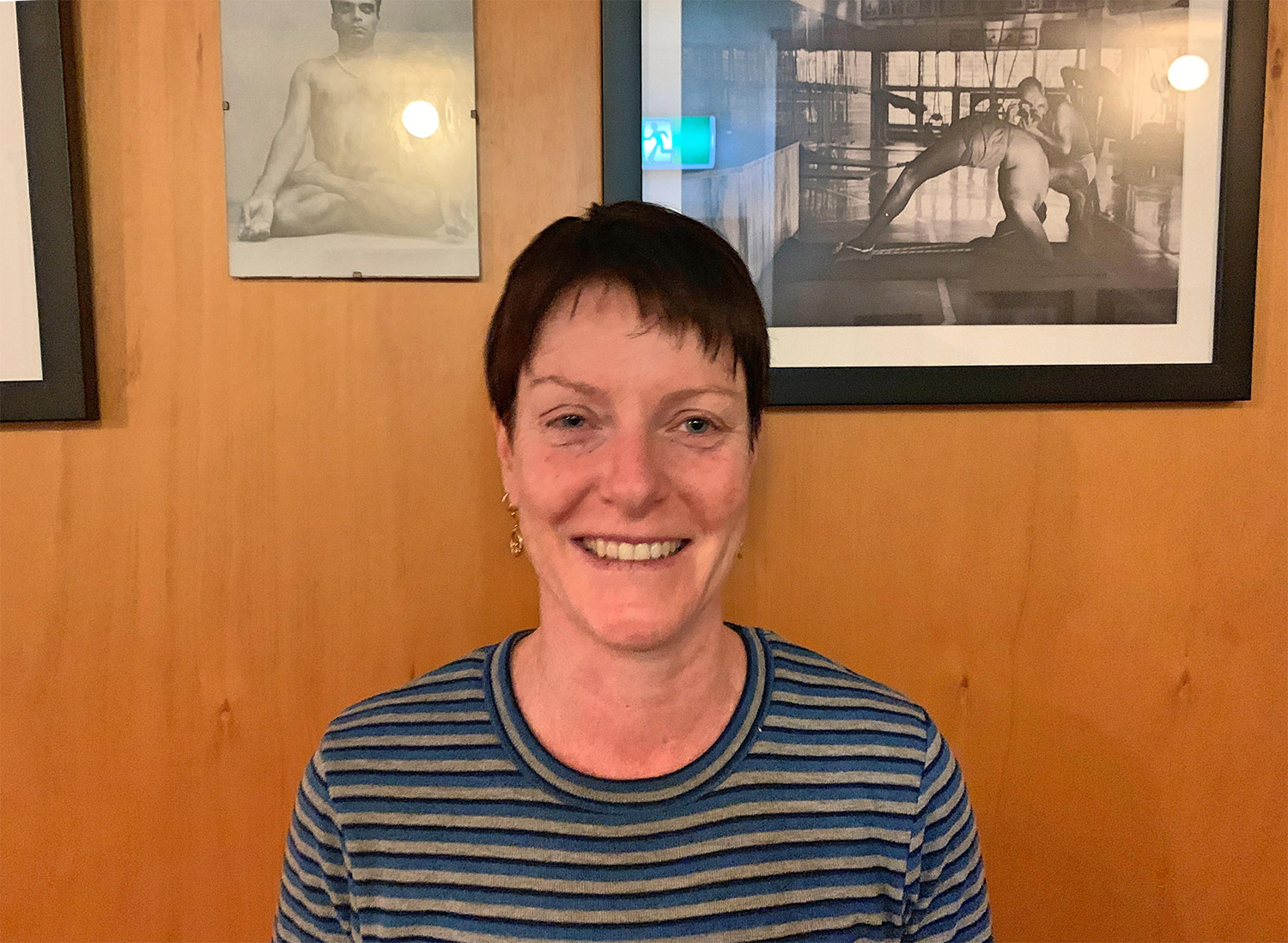 Kathryn Clarke   Kathryn is a certified Iyengar teacher who has been practising yoga for the past 20 years. She is a registered nurse who has spent a number of years as a volunteer in remote villages in India.