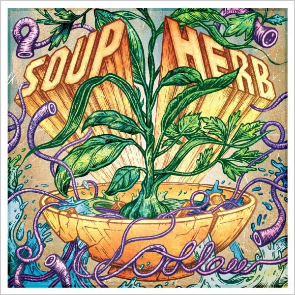 ARTIST:  ODLAW   RELEASE:  SOUP HERB  EP - RELEASED APRIL 13, 2015