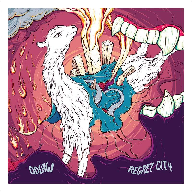 ARTIST:  ODLAW  RELEASE:  REGRET CITY  ALBUM - RELEASED MAY 10, 2017