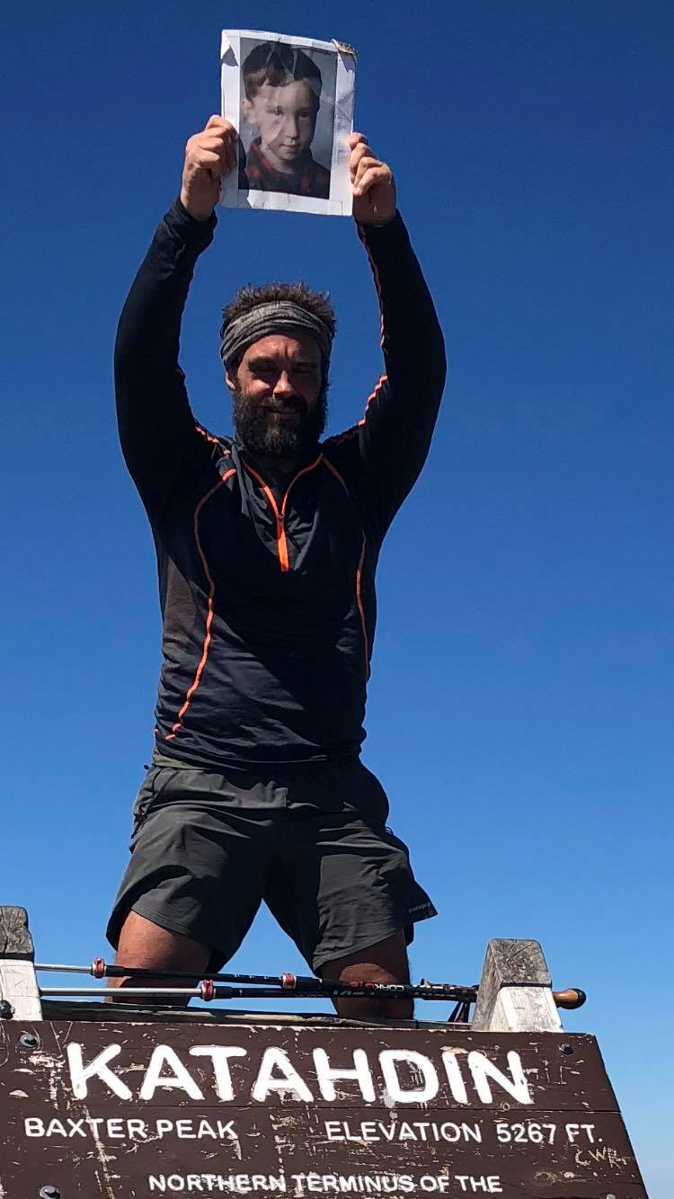 Matt completed the 2,190.9 miles of the Appalachian Trail on June 22, 2018. The trek took him just under 15 weeks and raised more than $5,300 for Miles For Nolan. (Photo Credit: Matt Rossi)