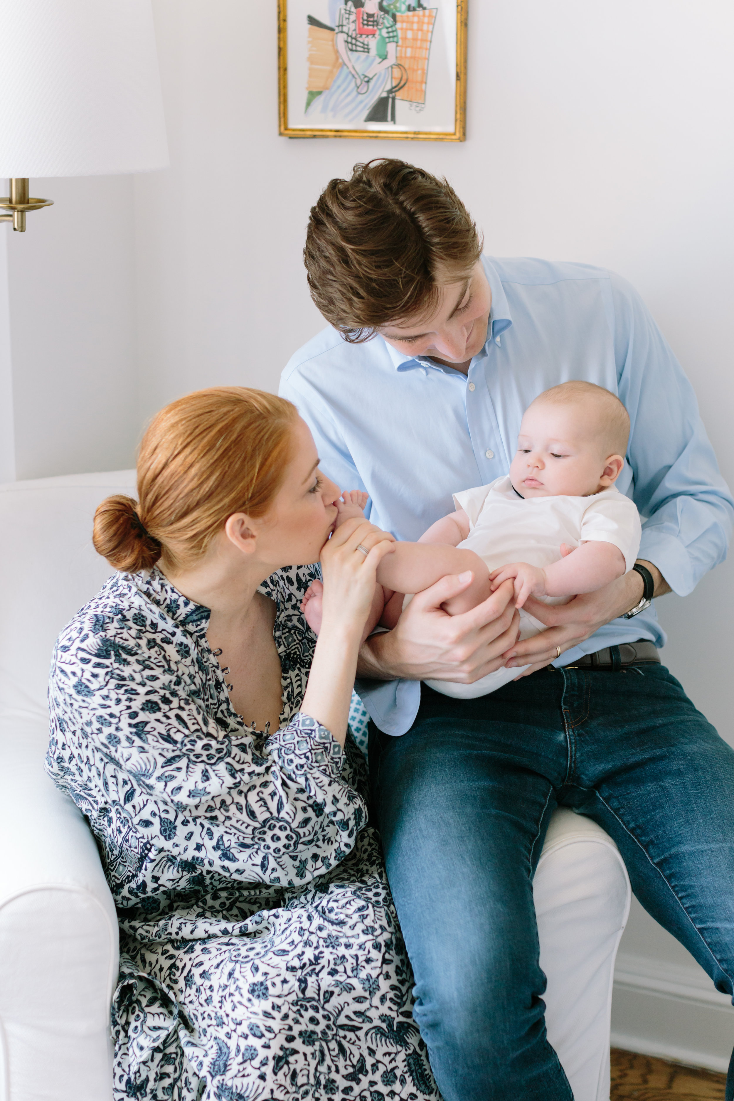 Newborn Photography in Upper East Side by top NYC family photographer, Jacqueline Clair Photography