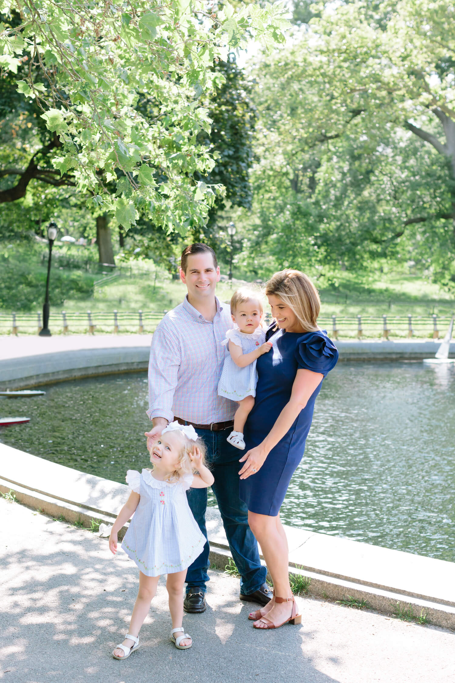New York Family Photographer, Jacqueline Clair Photography features their latest family session in Central Park