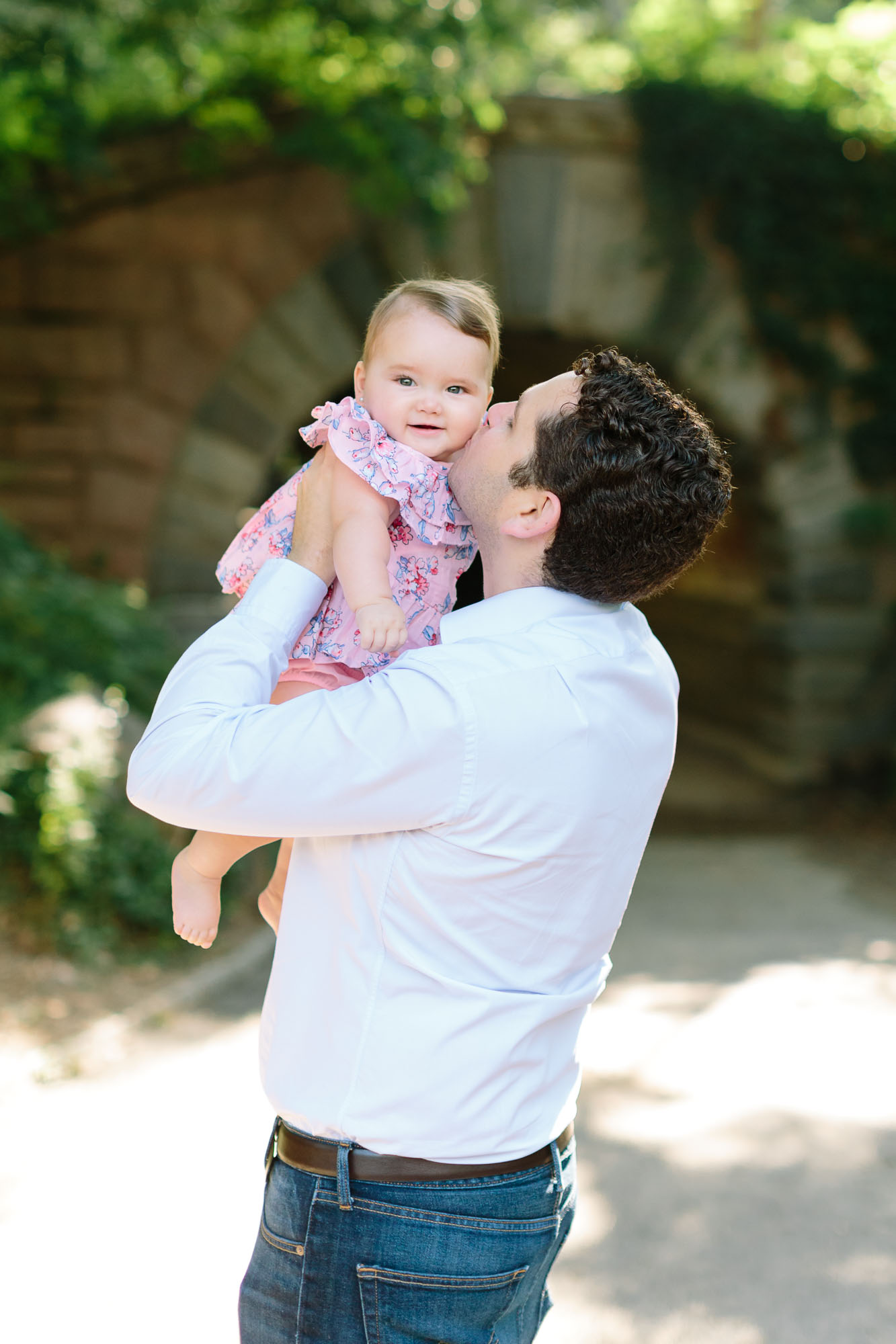 Morillos family in Central Park pictured by top NYC family photographer, Jacqueline Clair