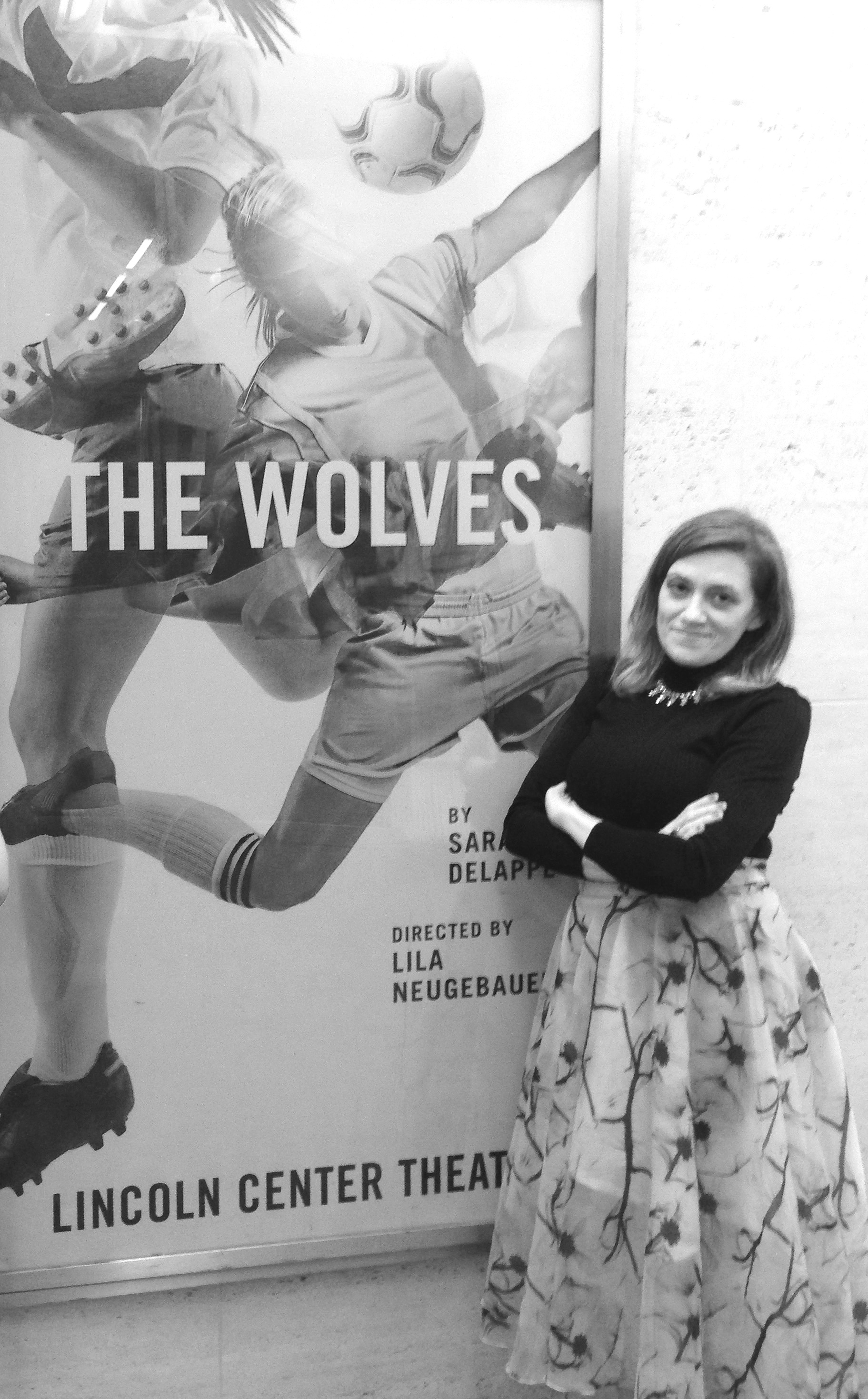 The Wolves     Heather Arnson, Assistant Director (pictured)   Lincoln Center Theatre  Lila Neugebauer, dir.