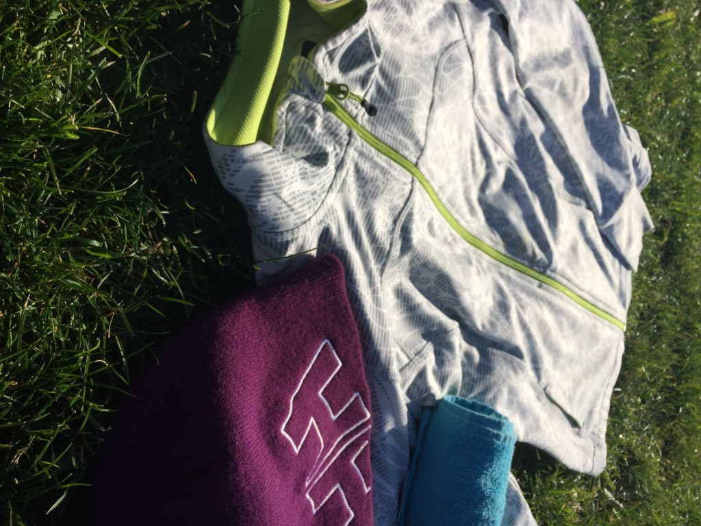 What's in my gym bag Clothing