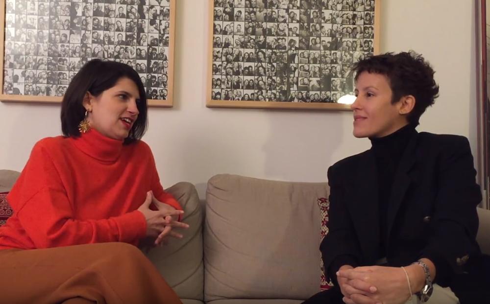 Isabel Junqueira e Olivia Merquior