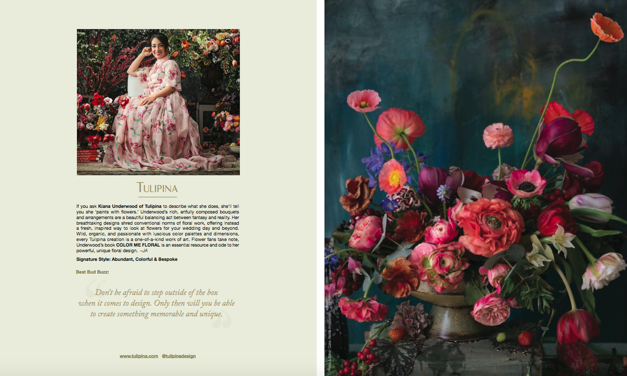 flower feature / ines di santo branded magazine