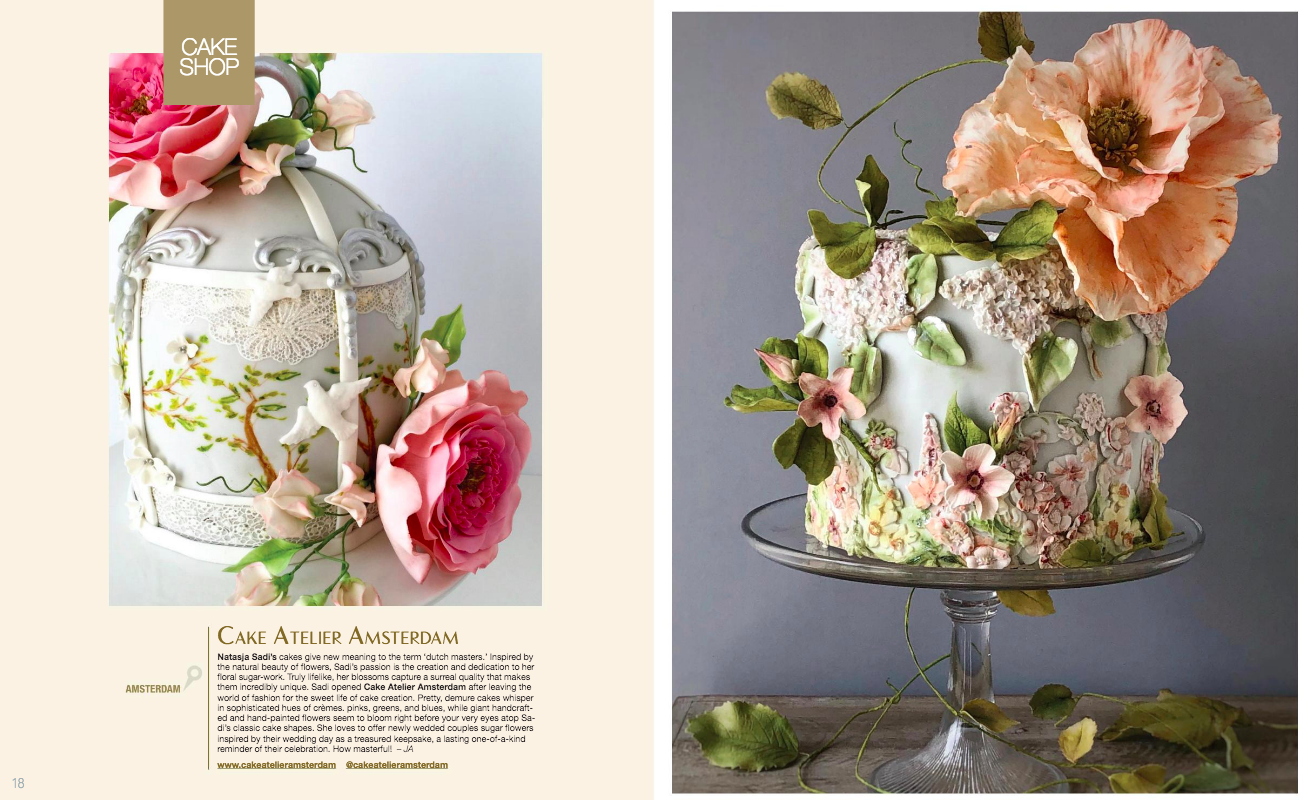 wedding cake feature / ines di santo branded magazine