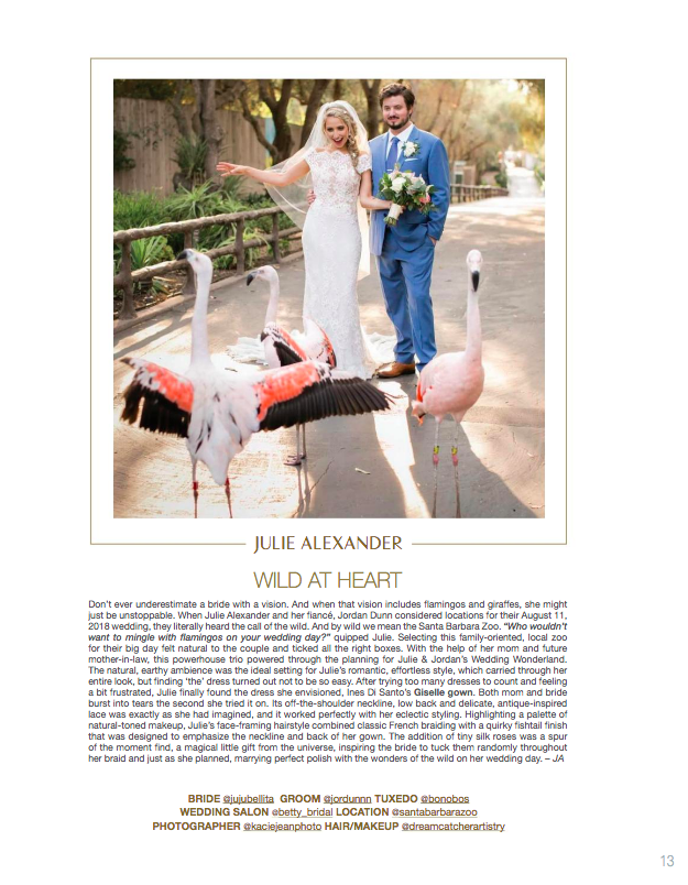 real weddings feature / ines di santo branded magazine