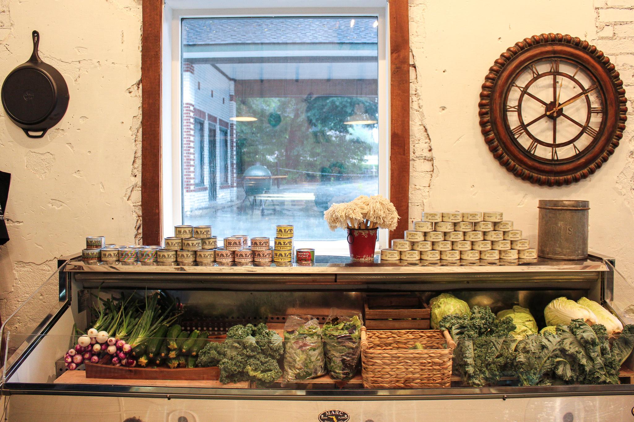 Local produce at Chop Shop (c) Anna Lanfreschi