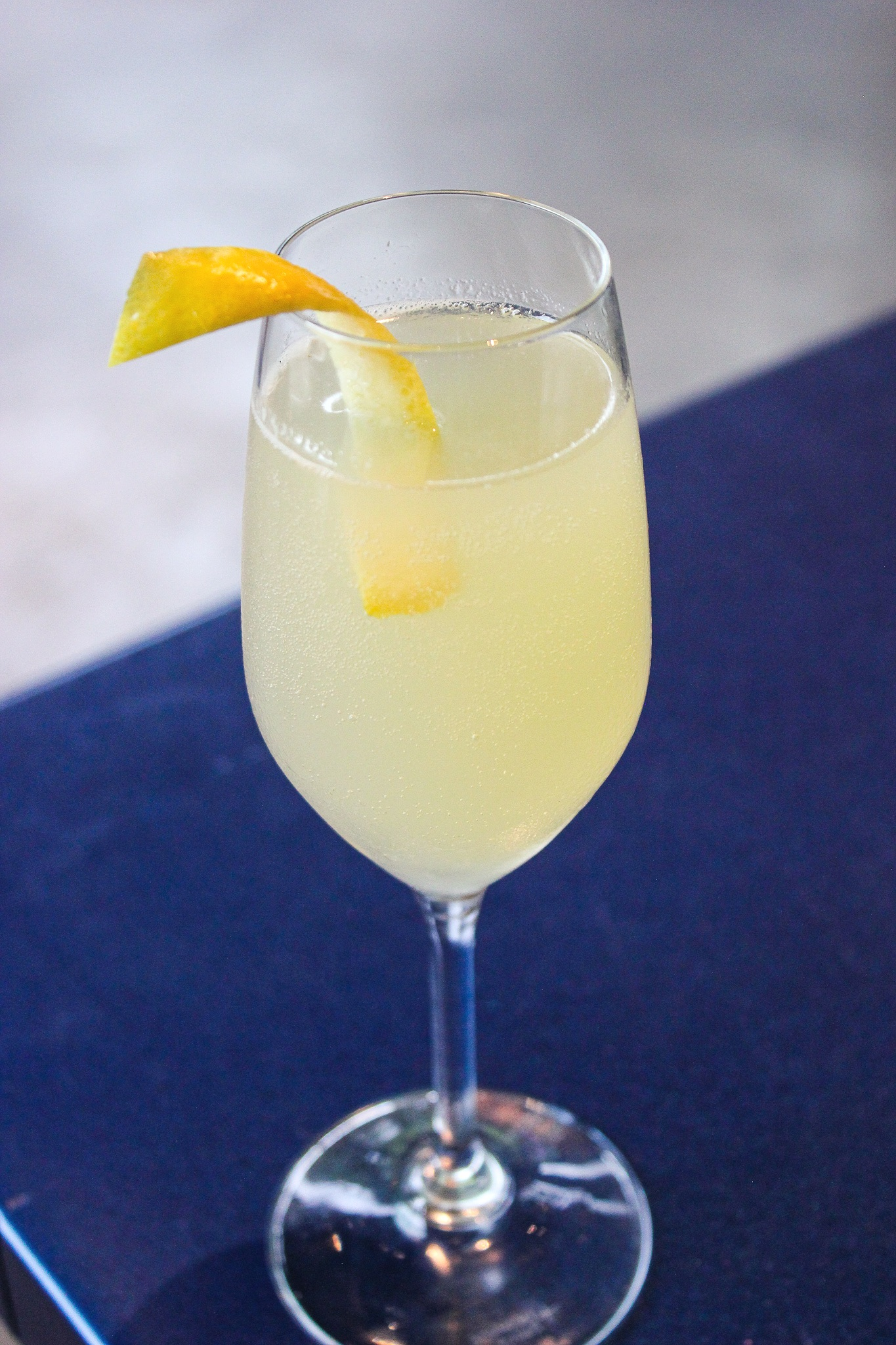 Making a classic cocktail like the French 75 lighter on calories is easier than you think (c) Anna Lanfreschi