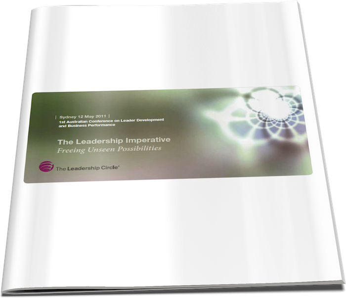 12 May, 2011 - The Leadership Imperative: Freeing Unseen Possibilities