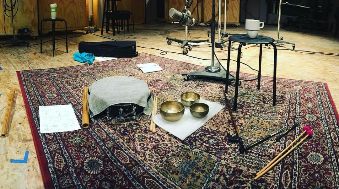 Recording Anne Leilehula Lanzilotti's Gray at Oktaven Audio in Mount Vernon, NY.