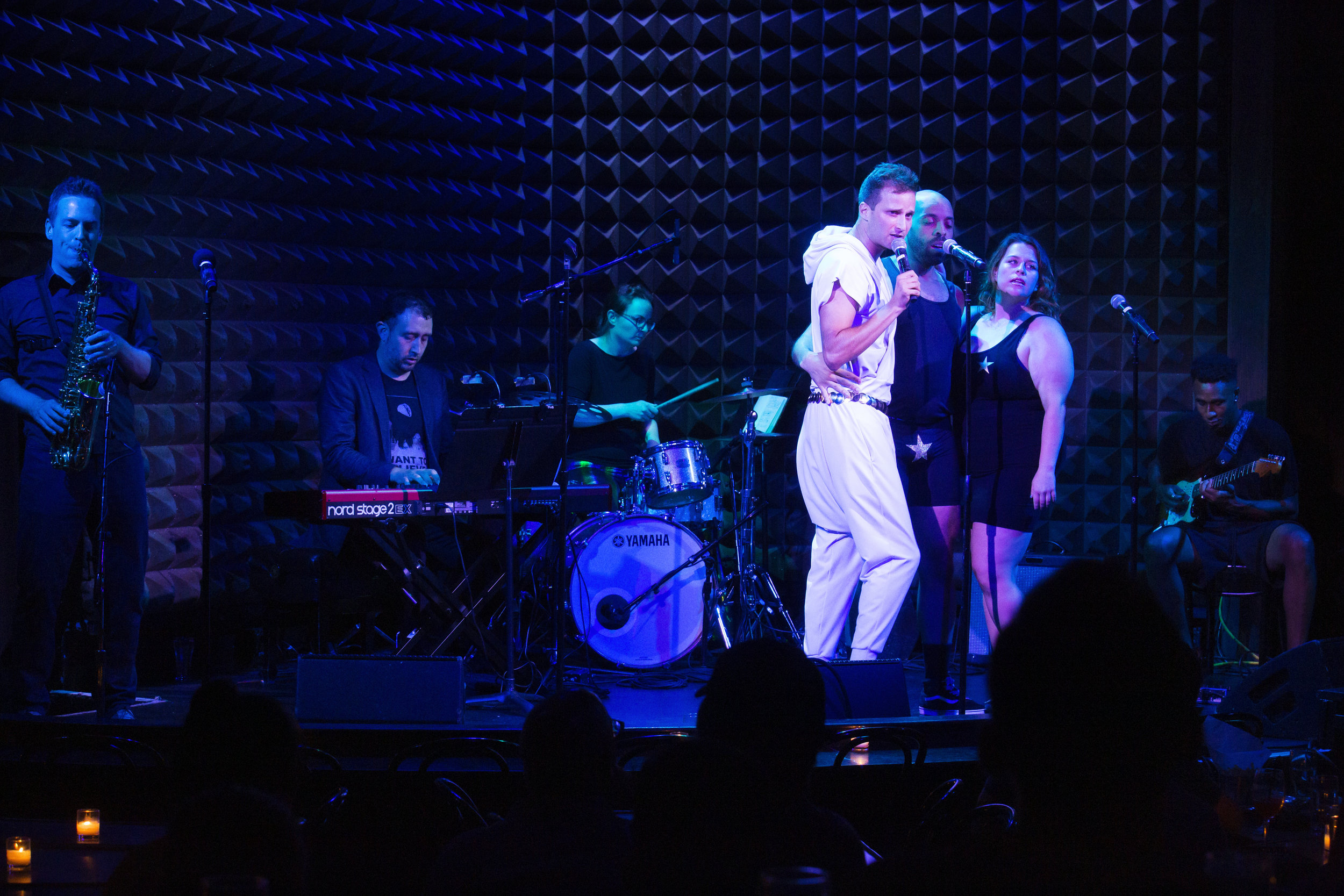 Philip Markle's album release of At the Gay Bathhouse, at Joe's Pub in NYC Photo by Mindy Tucker