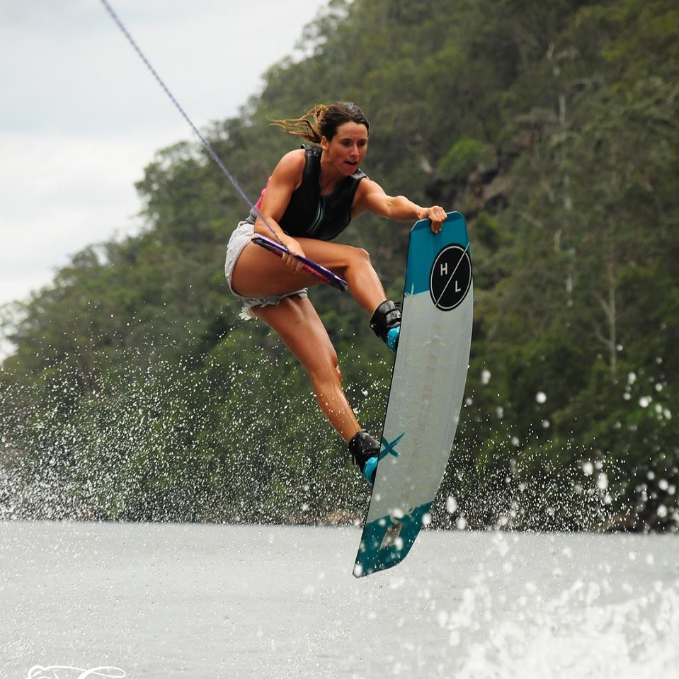 Courtney Angus Wakeboarding -