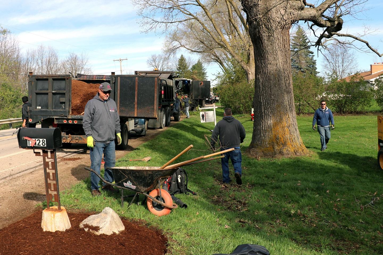 Giving back - landscape contractors in Novi MI