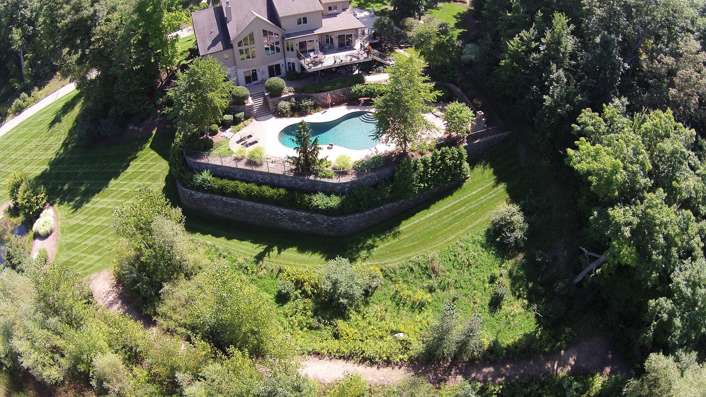 Landscape design in Birmingham MI - enhace it with tree removal