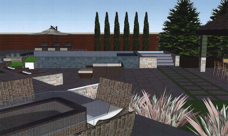 Landscape design in Bloomfield Township MI