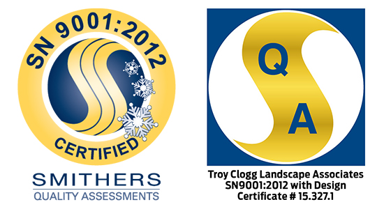 Commercial Snow Removal Company in Ann Arbor MI - Troy Clogg - 9001-badges